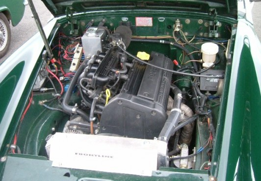Mg midget engine conversions